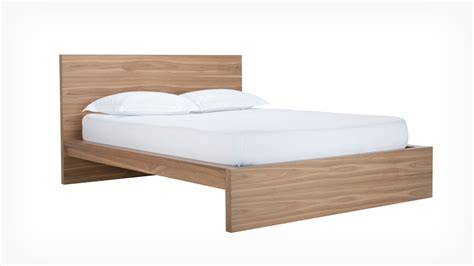 simple bed eq3 simple bed w panel headboard