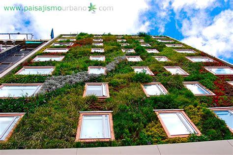 imagenes fachadas verdes fachada vegetal la importancia de las fachadas naturales