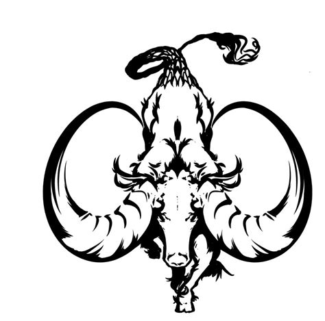 tattoo capricorn tribal capricorn tattoos designs ideas and meaning tattoos for you