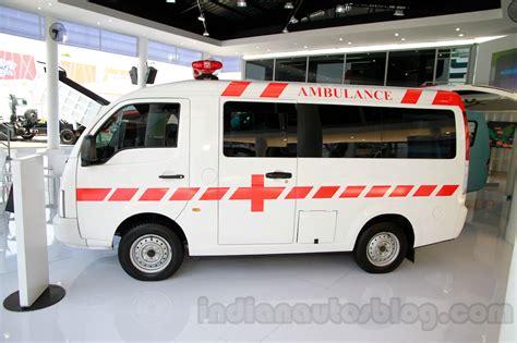 Ambulance Tata Motor Ace tata ace angkot tipper shown at iims