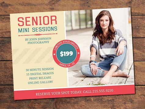 Marketing Materials Mini Session Cards Senior Mini Session Card Photographypla Net Mini Session Templates For Lightroom