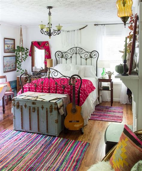 beautiful eclectic beautiful eclectic vintage boho bedroom love the bright
