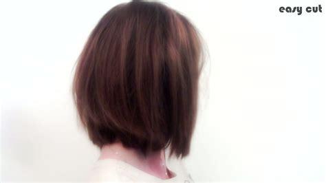 coiffure comment faire un carre plongeant
