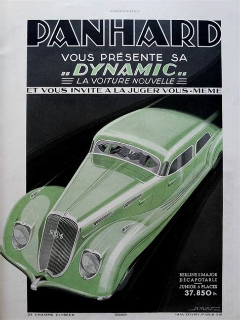 deco car ads deco 1936 vintage ads