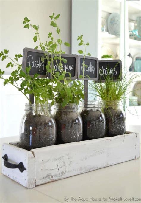 herbs   drawer  fruit jars  kitchen window