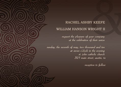 templates for wedding reception invitations post wedding reception invitation templates