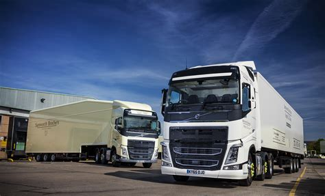 First Ever Volvo Trucks For Samworth Brothers Supply Chain