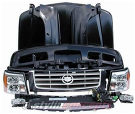 cadillac escalade front end conversion kit new style cadillac escalade front conversion kit