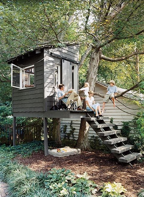 simple backyard tree houses relaxshacks com how tiny can you get when it comes to
