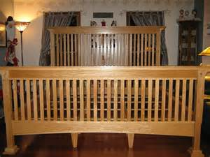 Woodworking Plans Mission Bed Frame Custom Made Mission Style Oak Bed By Duczynski