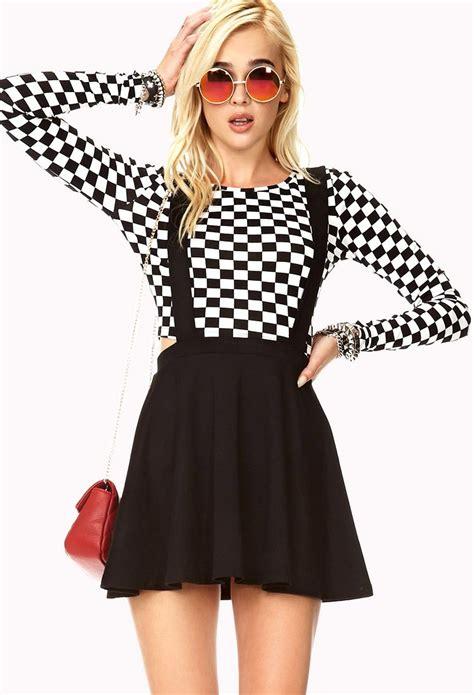Amanda Overall Skirt chic overall dress forever21 2000111857 vac