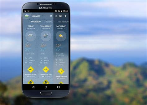 mobile meteo it application mobile m 233 t 233 o indon 233 sie makina corpus