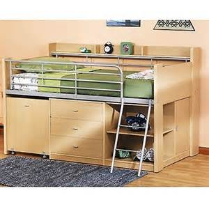 loft beds with desk and storage charleston storage loft bed w desk lots of