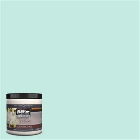 behr premium plus ultra 8 oz p440 2 clear aqua interior exterior paint sle ul20016 the