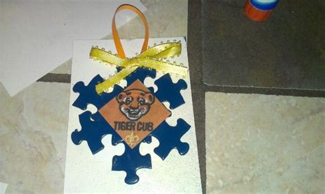 cub scout christmas ornament ideas cub scout ornament could do this in white and blue for ahg or appropriate colors