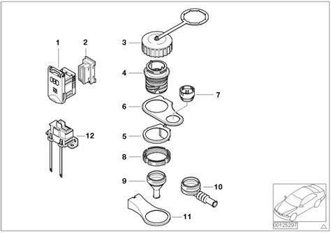 bmw  socket housing  cover  pol obd  genuine bmw part