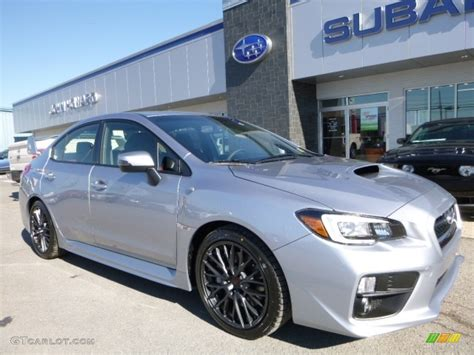 silver subaru wrx interior 2016 silver metallic subaru wrx sti 111927625 photo