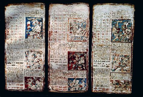 imagenes codices mayas los manuscritos sagrados mayas los codices sistema