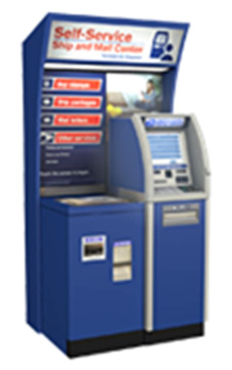 self service kiosks help customers expedite visit to post