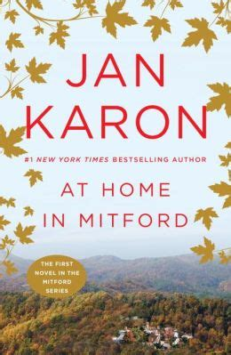 at home in mitford mitford series 1 by jan karon