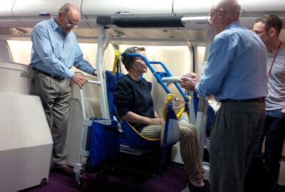 Wheelchair For Cabin Seat by Eagle 2 Hoist Improves Disabled Passenger Experiencethe News