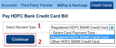 how to make payment of hdfc credit card how to pay hdfc credit card bill using