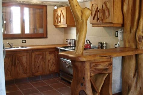 muebles de cocina madera rustica cocinas rusticas como decorar madera
