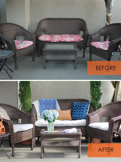 how to cover sofa cushions without sewing no sew patio cushion covers