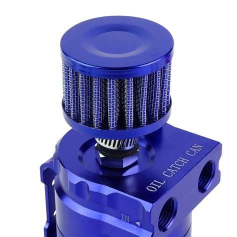 Filter Udara Universal Blue universal aluminum dual chamber filter reservoir breather