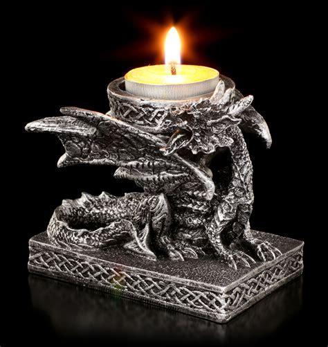 Kerzenhalter Für Große Kerzen by Drachen Kerzenhalter Kerzen Kaufen Www Figuren