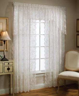 macy s curtains and window treatments croscill cavalier sheer window treatment collection macy s