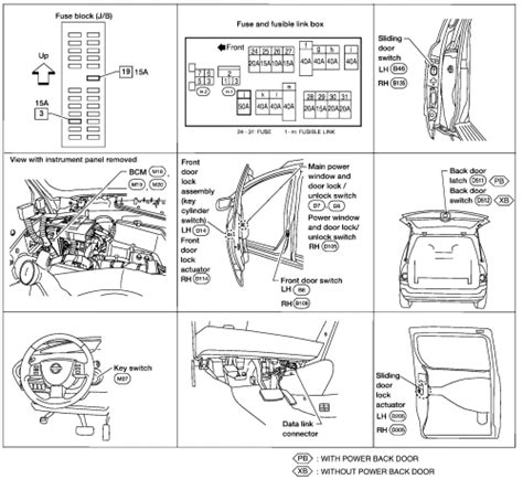 Service Manual Door Panel Removal 2004 Nissan Quest