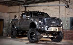 awesome ford superduty with fender flares custom bumper