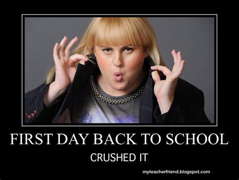 First Day Of School Funny Memes - my teacher friend back to school memes that you will heart