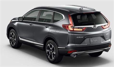 Honda Crv 2020 by 2020 Honda Cr V Overview Interior Release Date