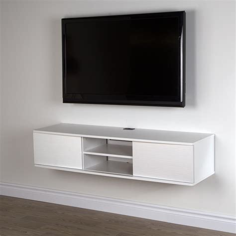 south shore agora 56 quot wide wall mounted media console by
