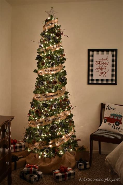 adorning with a classic farmhouse inspiration decorations tree how to style a nature inspired rustic farmhouse christmas tree