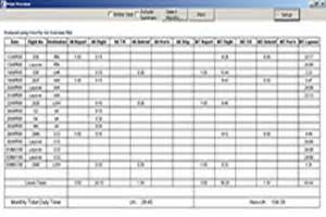 Cabin Crew Schedule by Crewtax Net Home