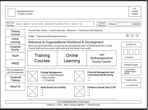wireframe diagram jim atkinson web designjim atkinson