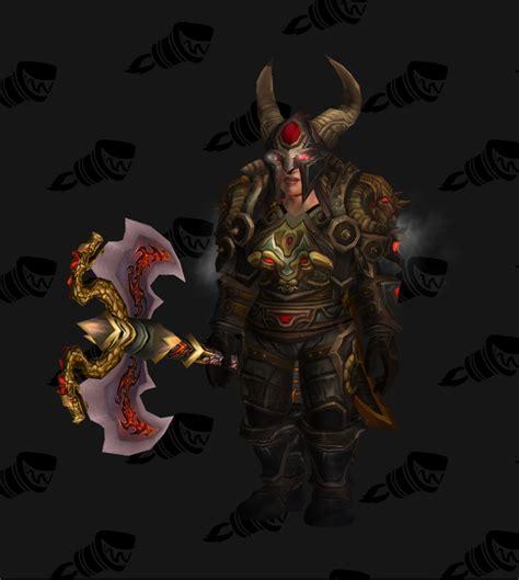 barbarian icey veins conqueror s siegebreaker battlegear warrior transmog pve