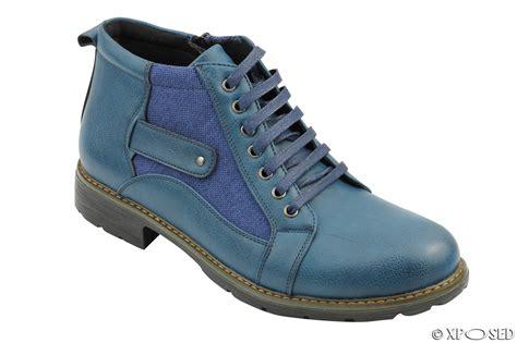 mens canvas ankle boots mens faux leather canvas boots vintage smart casual lace