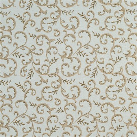 blue damask upholstery fabric light blue and gold damask abstract floral upholstery