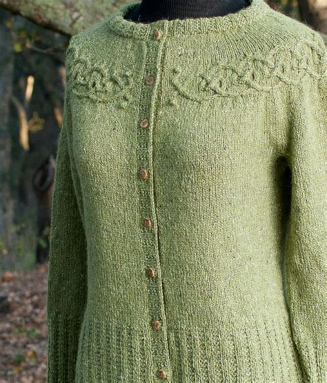 yoke knitting pattern audknits 187 tangled yoke cardigan