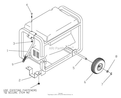 wheel diagram briggs and stratton power products 1645 0 4 000 exl