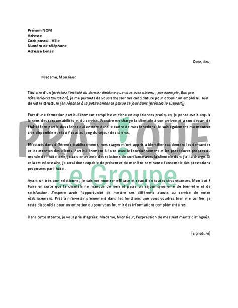 Lettre De Recommandation Emploi Gratuit emploi lettre de satisfaction client gratuit
