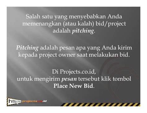 design bid build adalah pitching rahasia memenangkan lowongan kerja online