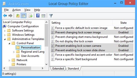 wallpaper gpo windows 8 1 how to restrict users from customizing lock screen in