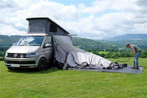 vango blow up awning how to attach a vango inflatable awning to your van