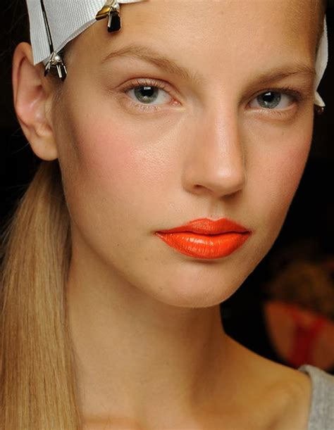 Lipstik Revlon Warna Orange how to wear orange lipstick huffpost