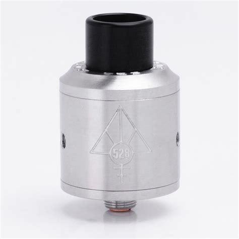 Goon Rda 24 Sleeve Authentic authentic 528 custom goon rda silver 24mm rebuildable atomizer